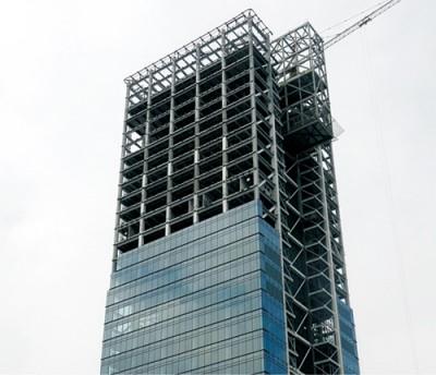 工程钢结构 高层钢结构 河南亿立钢构产品图片高清大图