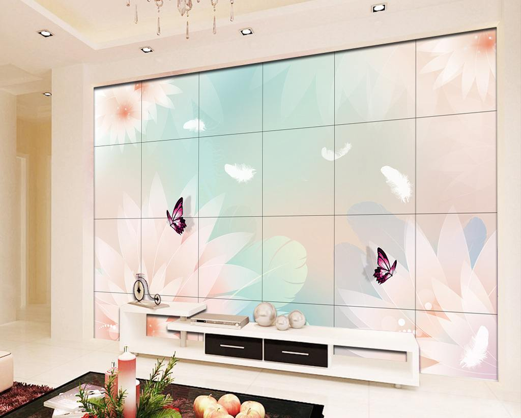 8d5d3d陶瓷壁画 电视背景墙瓷砖壁画 现代简约3d精雕
