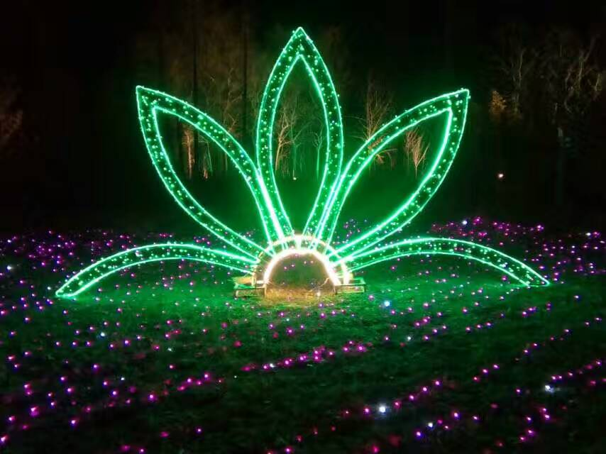 灯光节厂家灯光秀设计很有市场的新型产品图片