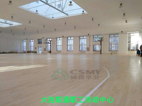 滕州畅森体育安装篮球木地板很专业 - 产品库 - 无忧