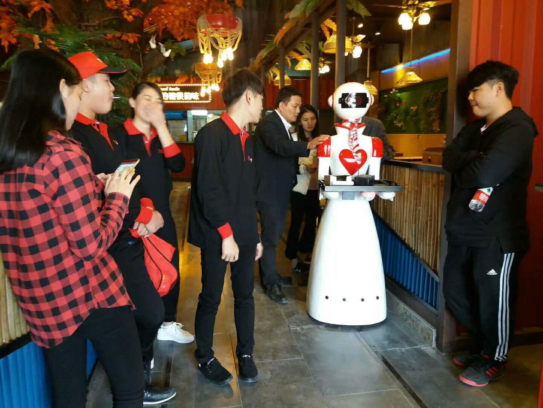 广州金灵送餐机器人JL100价格