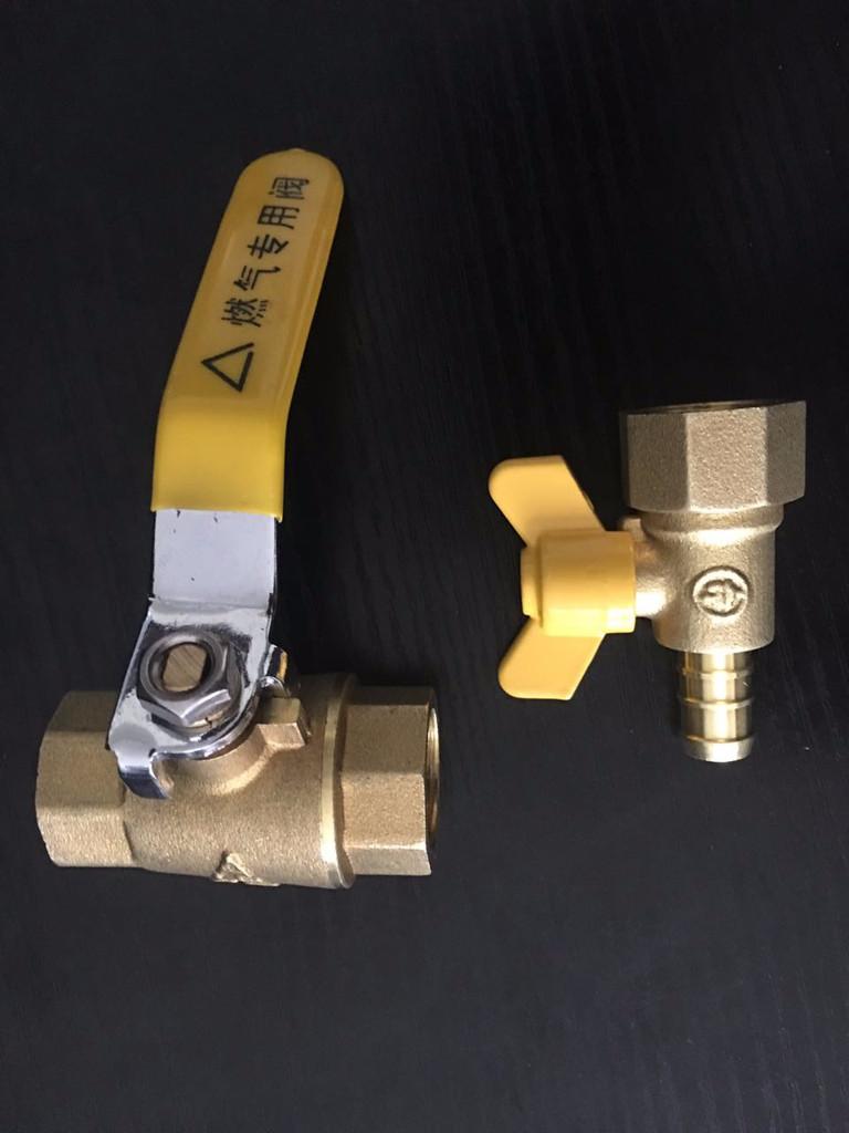 厂家直销dn15/dn20全系列燃气专用铜球阀产品图片高清图片