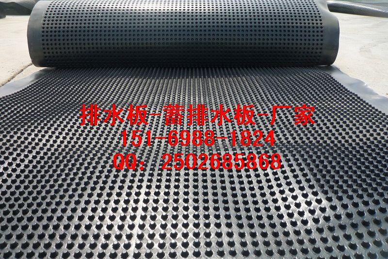 凸点3公分六安蓄排水板¥巢湖车库顶板排水板