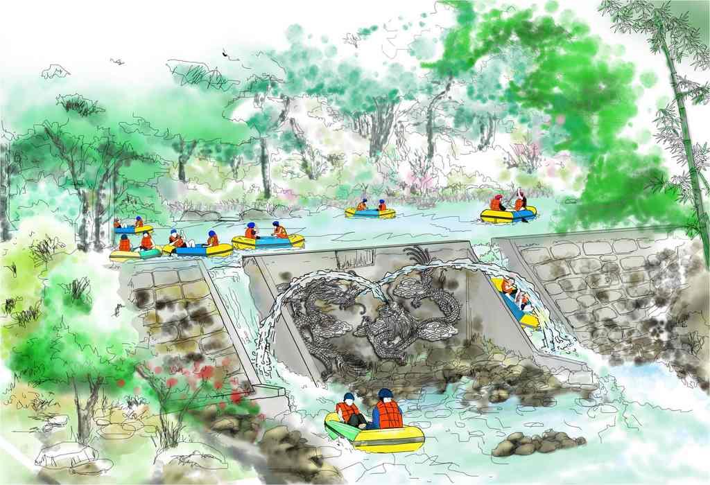 漂流景区规划设计产品图片高清大图