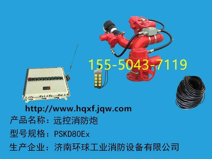 防爆电控消防水炮PSKD80Ex