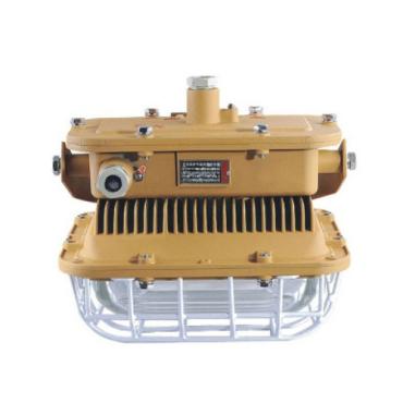 防爆led泛光灯的接线盒从下面进线,适用于橡套和铠装电缆布线,内部