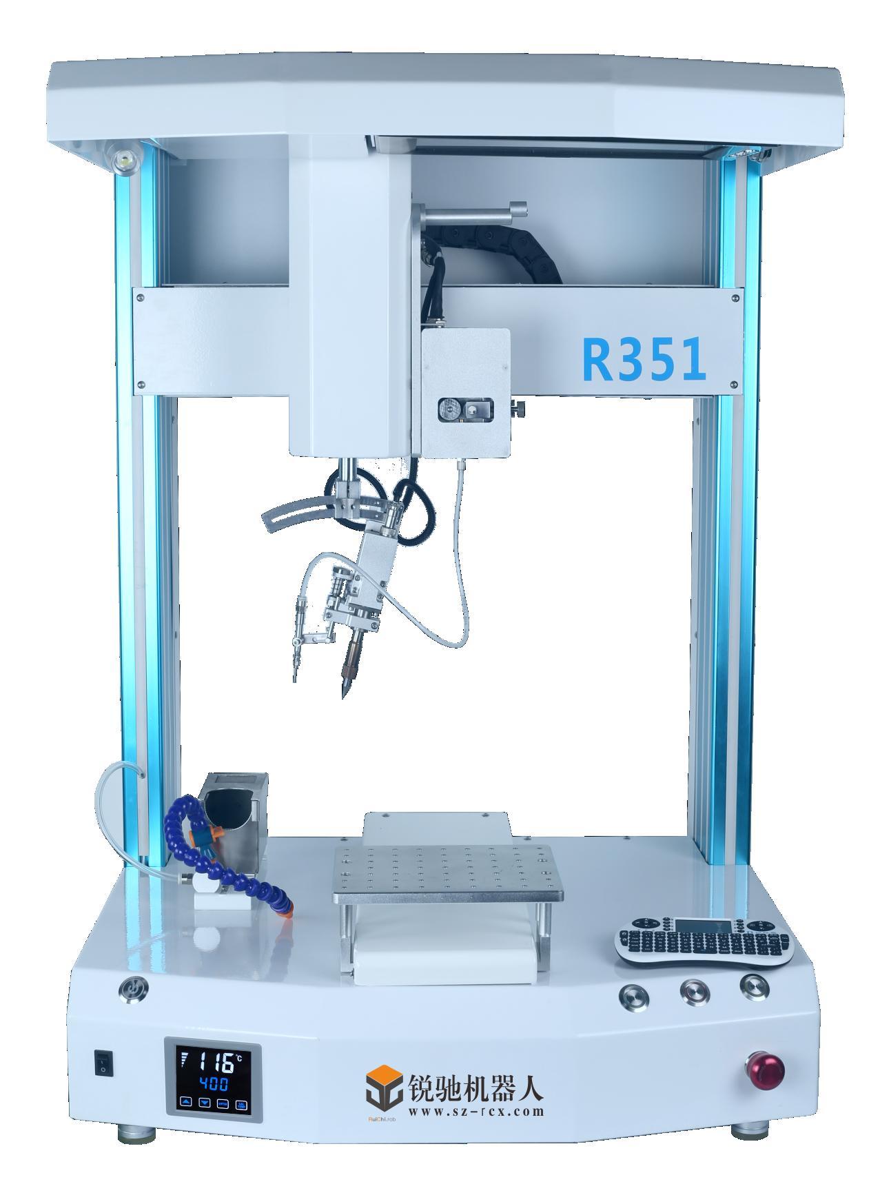 双工位双头自动焊锡机高清图片 高清大图