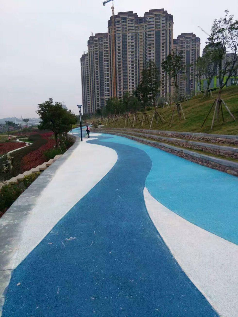 彩色透水混凝土进口优质原料