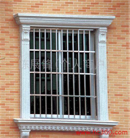 砖砌窗套突出效果图