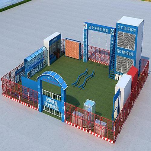 施工安全体验馆方案 安全体验馆厂家 建筑工地安全体验馆