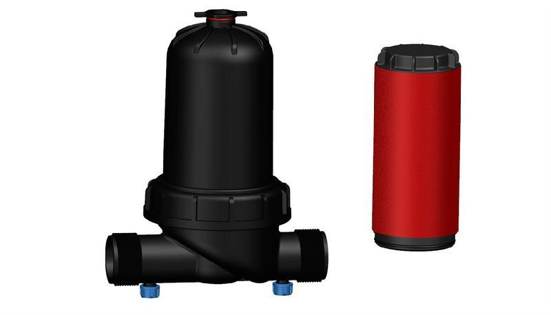 [供应]过滤器 施肥器滴灌首部 碟片过滤器 精细过滤