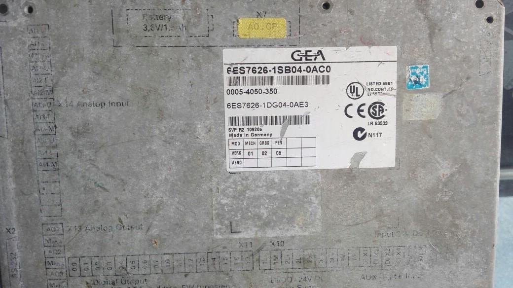 广州维修6ES7626-1SB04-0AC0 离心机C7-626维修