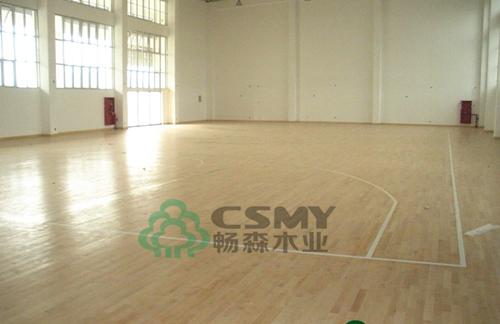 江油体育馆舞台专用运动木地板配套图片