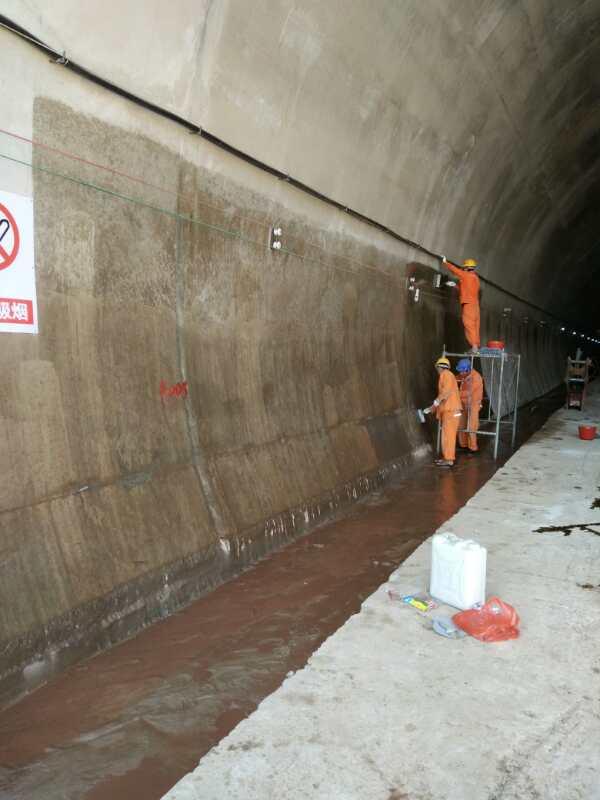 桥梁、隧道混凝土二衬碳化强度不够处理方法天津祥焕砼&8482