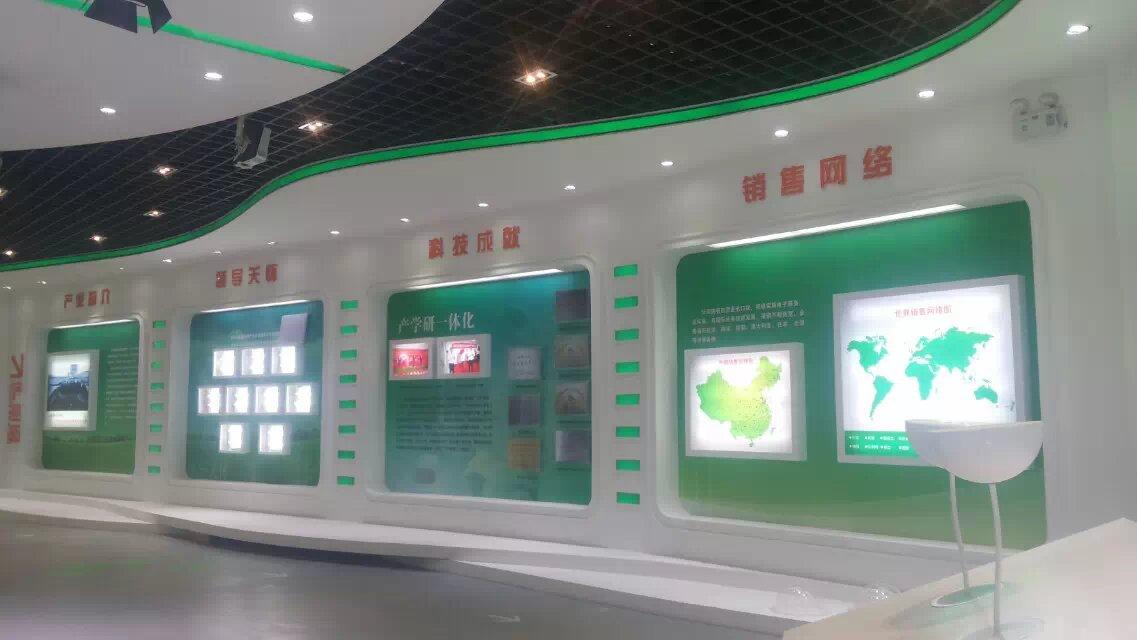 山东省企业展厅设计装修及政府展厅设计装修产品图片