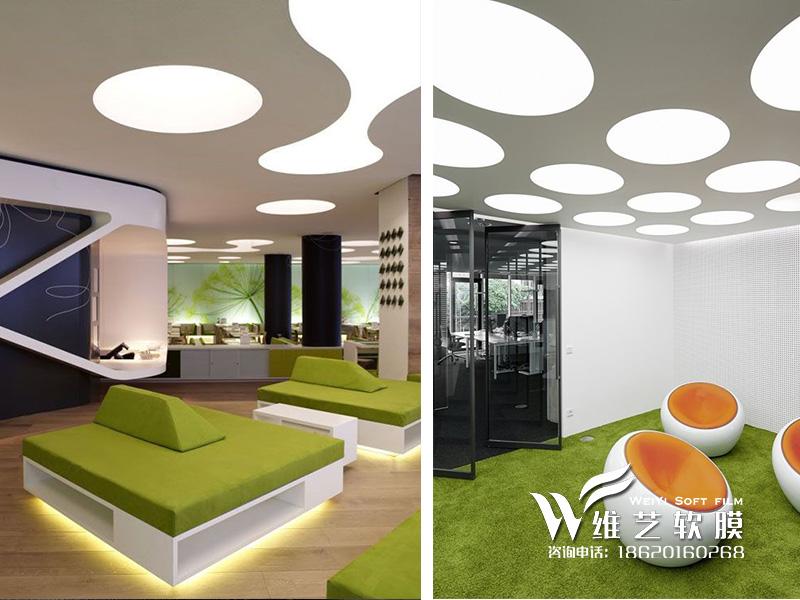 软膜天花吊顶价格|广州透光膜灯箱产品大图