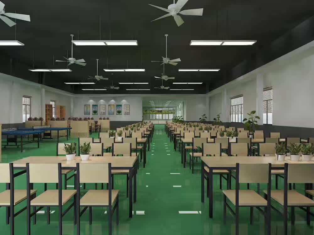 单位食堂设计效果图