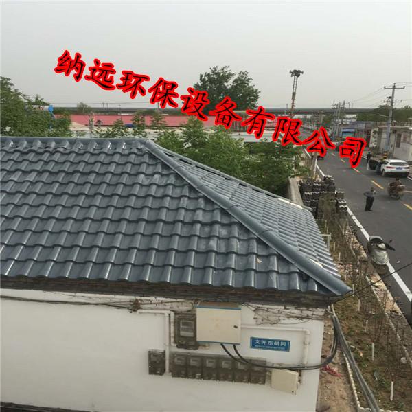 钢结构,木结构,砖木混合结构等  平改坡屋面专用仿古瓦@泉州平改坡