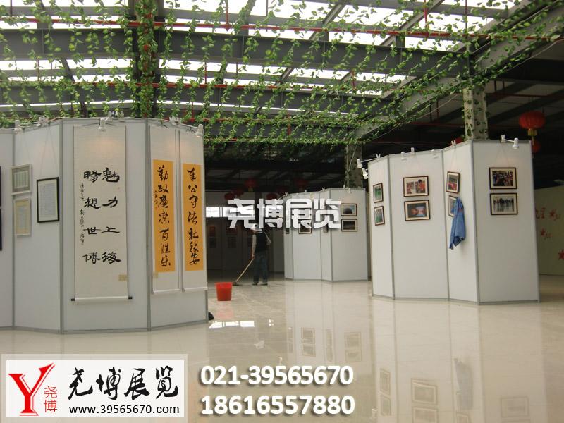 上海挂画展板租赁,上海书画展示板出租产品图片高清