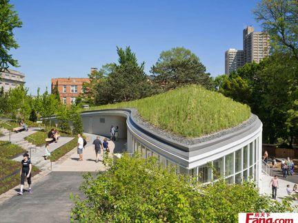 西安雁塔区楼顶绿化西安房顶防晒隔热屋顶绿化绿地贴