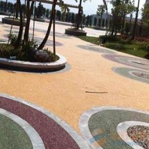 供甘肃平凉环氧彩砂地坪漆和庆阳艺术压花地坪漆