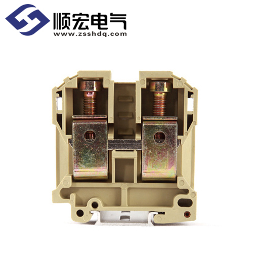 001 juk2.5b 接线端子2.5mm2 灰色 6.2mm厚  1010.002 juk2.