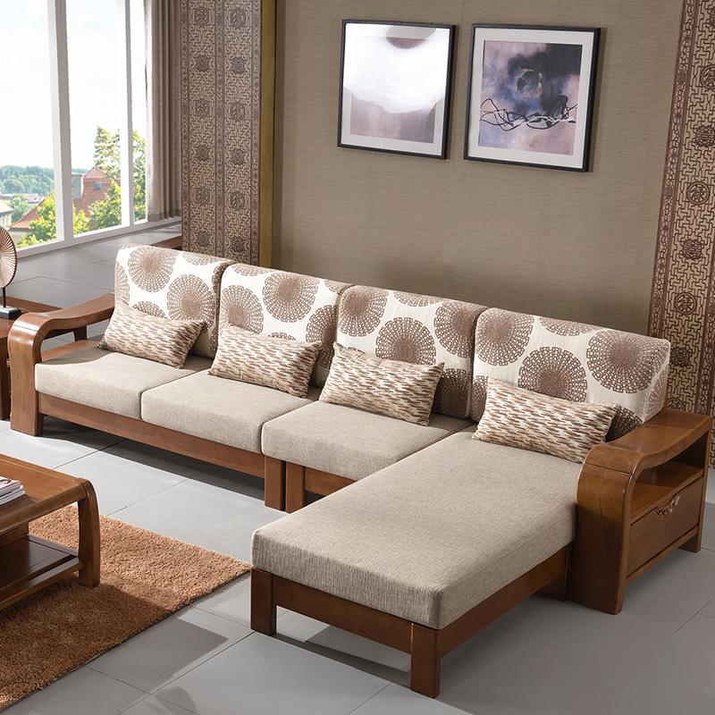 小沙发实木沙发可拆洗沙发休闲沙发布艺沙发产品大图