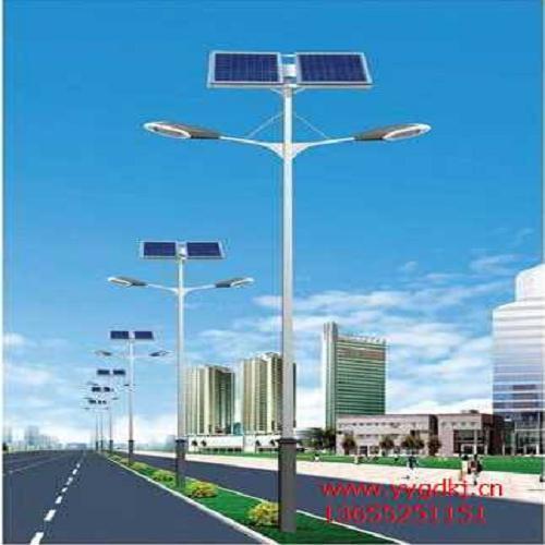 锂电池太阳能路灯高清大图