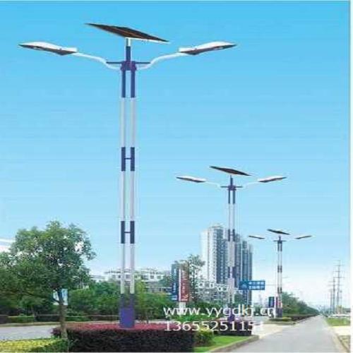 40w锂电池太阳能路灯高清大图
