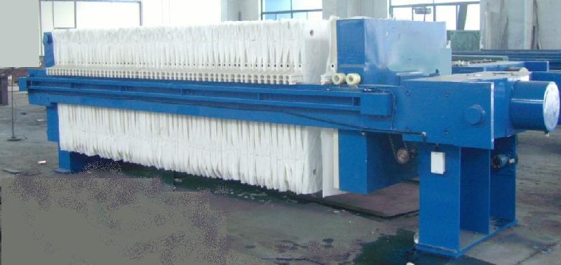1000型明流程控自动翻板压滤机