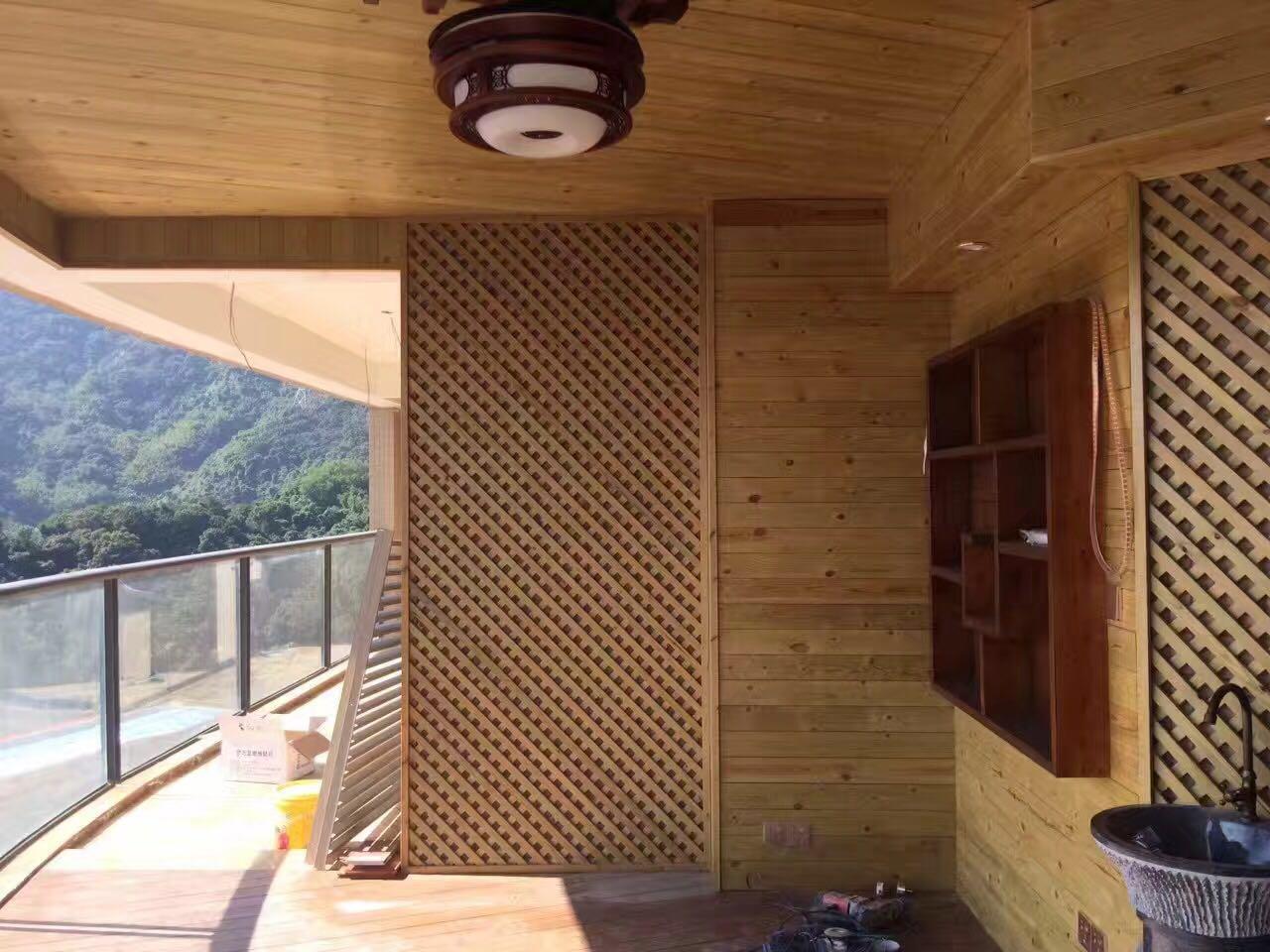 [供应]阳台木质 户外阳台 防腐木阳台